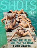 6 Girls On A Pier