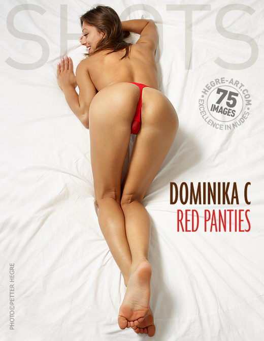 Dominika C - `Red Panties` - by Petter Hegre for HEGRE-ART