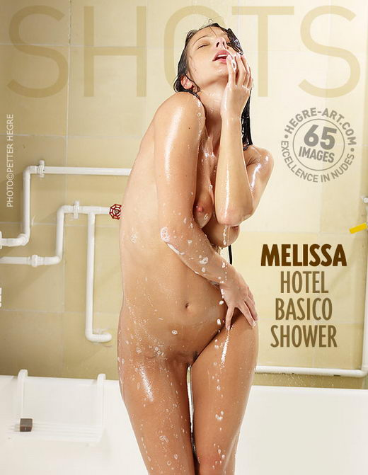 Melissa - `Hotel Basico Shower` - by Petter Hegre for HEGRE-ART