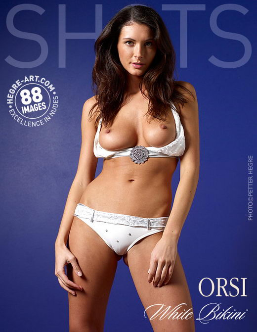 Orsi - `White Bikini` - by Petter Hegre for HEGRE-ART