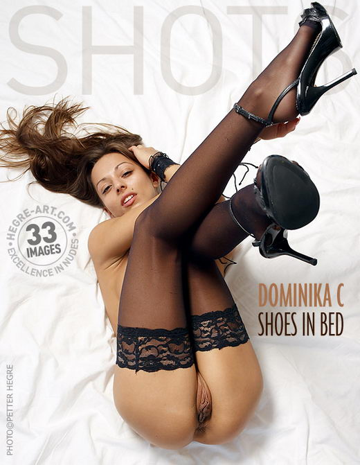 Dominika C - `Shoes In Bed` - by Petter Hegre for HEGRE-ART