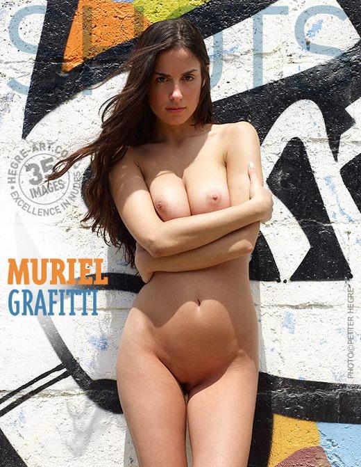 Muriel - `Grafitti` - by Petter Hegre for HEGRE-ART