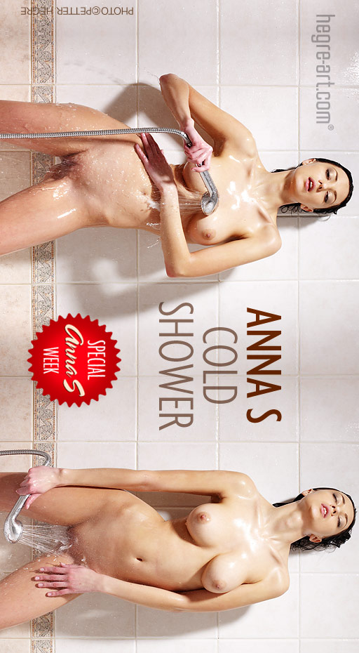 Anna S - `Cold Shower` - by Petter Hegre for HEGRE-ART