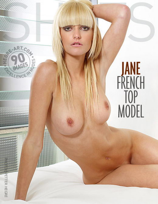 Jane - `French Top Model` - by Petter Hegre for HEGRE-ART