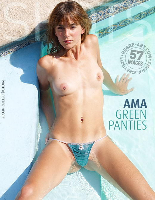 Ama - `Green Panties` - by Petter Hegre for HEGRE-ART