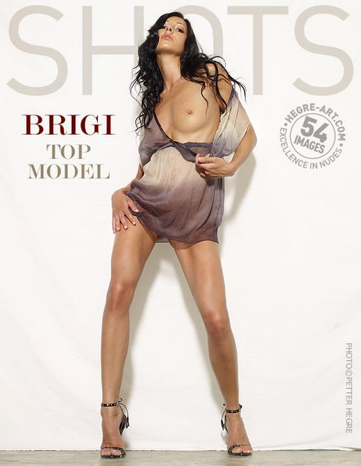 Brigi - `Top Model` - by Petter Hegre for HEGRE-ART