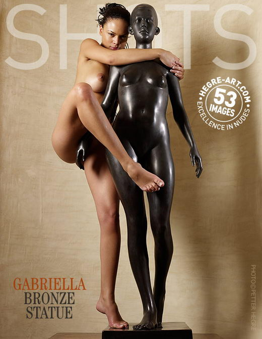 Gabriella - `Bronze Statue` - by Petter Hegre for HEGRE-ART