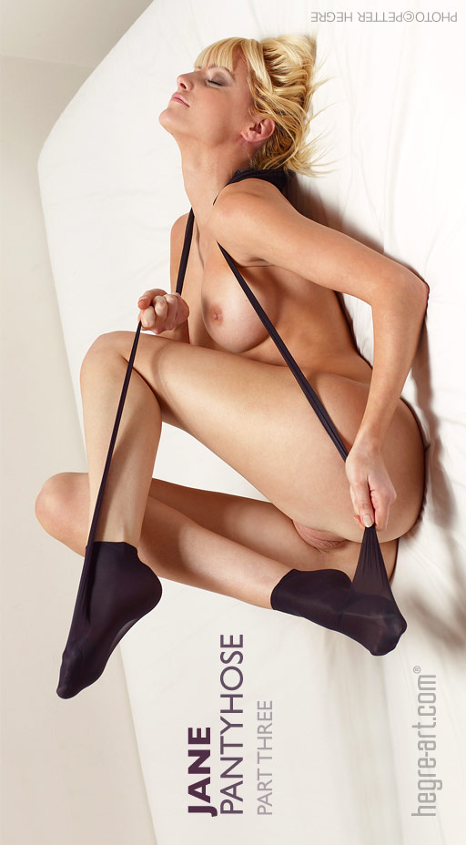 Jane - `Pantyhose - Part 3` - by Petter Hegre for HEGRE-ART