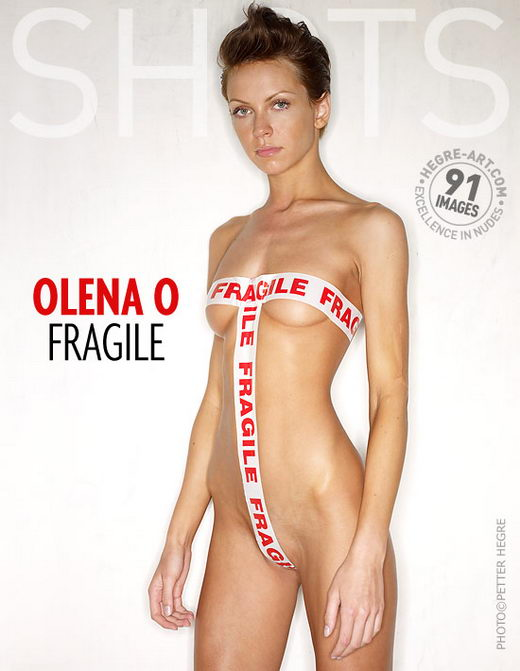 Olena O - `Fragile` - by Petter Hegre for HEGRE-ART