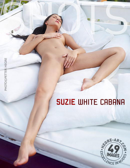 Suzie - `White Cabana` - by Petter Hegre for HEGRE-ART
