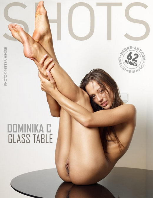 Dominika C - `Glass Table` - by Petter Hegre for HEGRE-ART