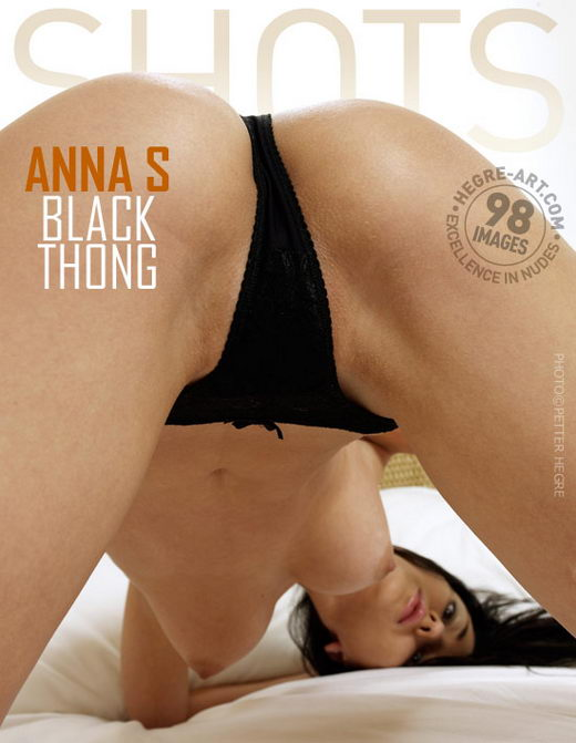 Anna S - `Black Thong` - by Petter Hegre for HEGRE-ART