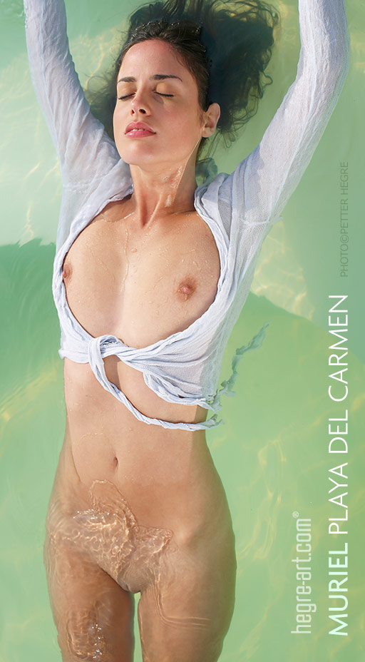 Muriel - `Playa Del Carmen` - by Petter Hegre for HEGRE-ART