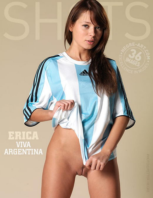 Erica - `Viva Argentina` - by Petter Hegre for HEGRE-ART