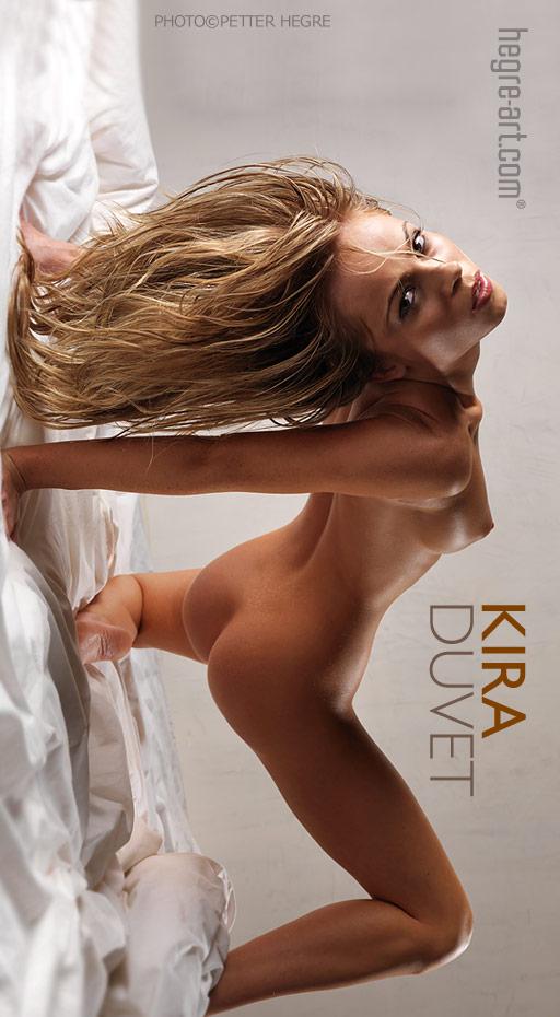 Kira - `Duvet` - by Petter Hegre for HEGRE-ART