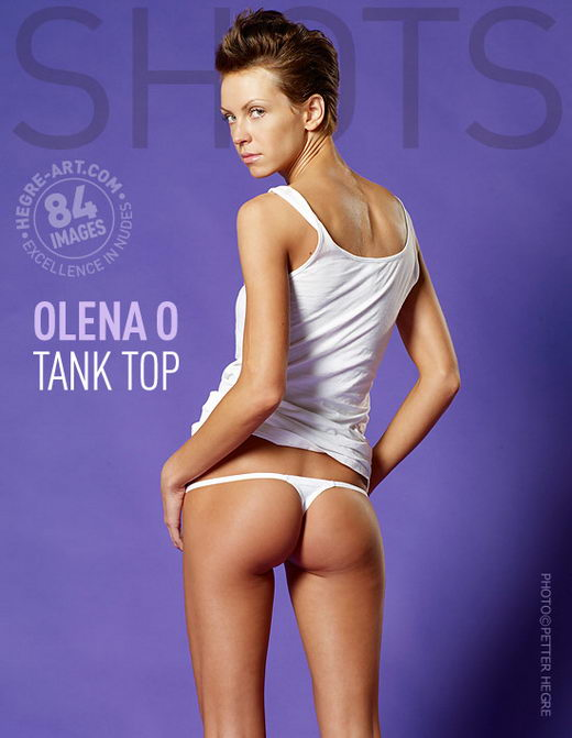 Olena O - `Tank Top` - by Petter Hegre for HEGRE-ART