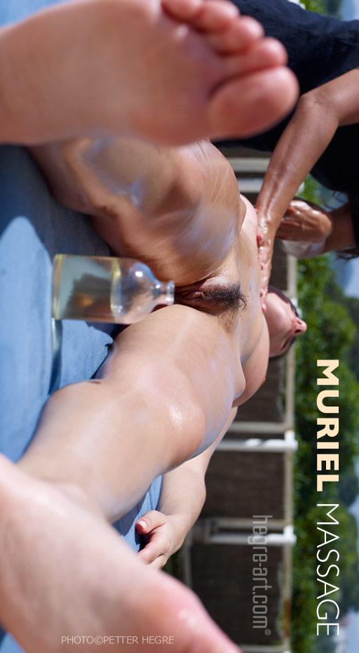 Muriel - `Massage` - by Petter Hegre for HEGRE-ART