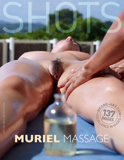 Muriel - `Massage` - by Petter Hegre for HEGRE-ART