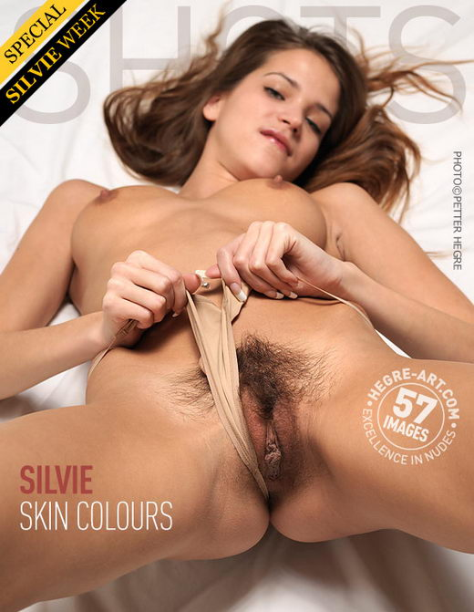 Silvie - `Skin Colours` - by Petter Hegre for HEGRE-ART