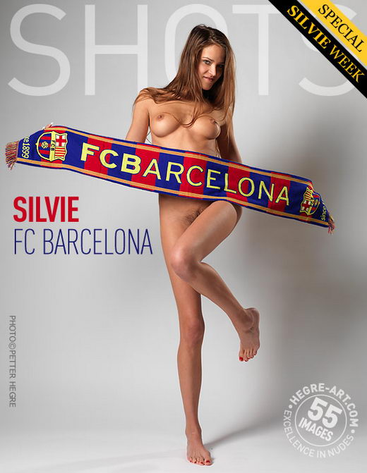 Silvie - `Fc Barcelona` - by Petter Hegre for HEGRE-ART