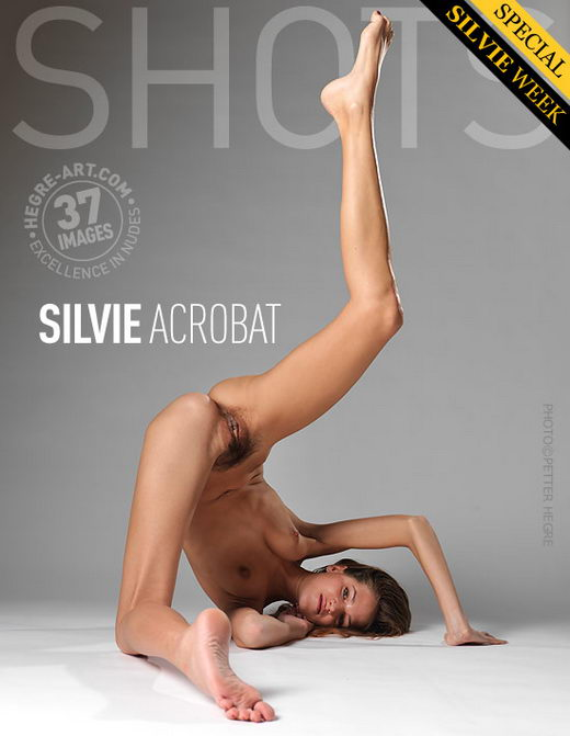 Silvie - `Acrobat` - by Petter Hegre for HEGRE-ART