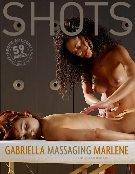 Gabriella & Marlene - `Massaging Marlene` - by Petter Hegre for HEGRE-ART