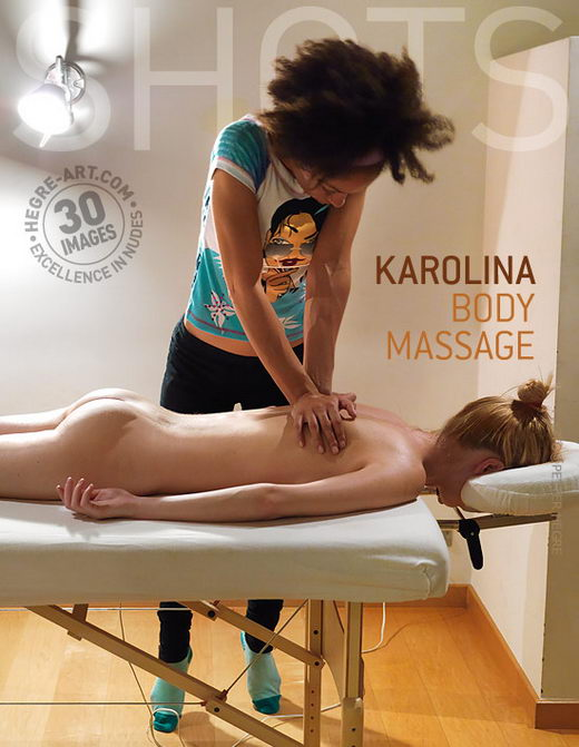 Karolina - `Body Massage` - by Petter Hegre for HEGRE-ART