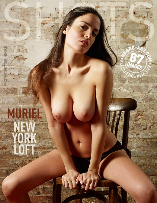 Muriel - `New York Loft` - by Petter Hegre for HEGRE-ART