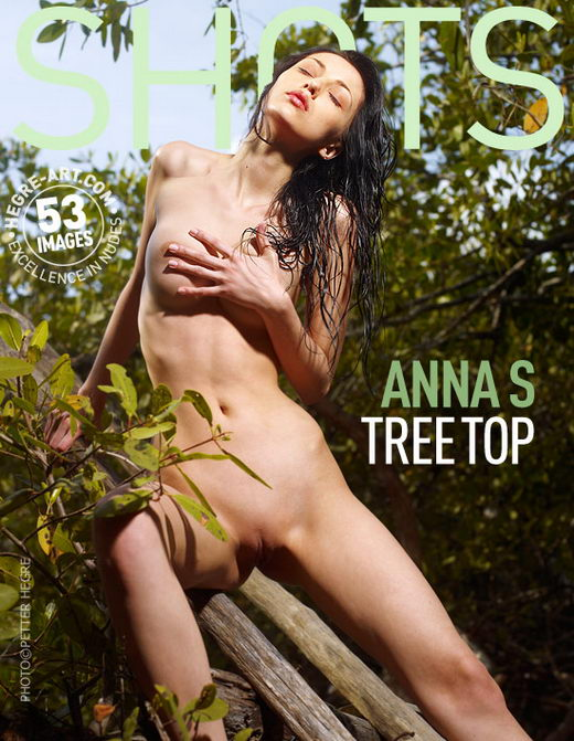 Anna S - `Tree Top` - by Petter Hegre for HEGRE-ART