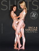 Erica & Karolina in Creaming gallery from HEGRE-ART by Petter Hegre