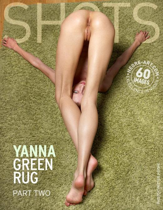 Yanna - `Green Rug Part2` - by Petter Hegre for HEGRE-ART
