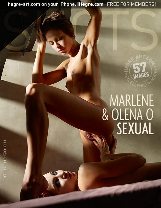 Marlene & Olena O - `Sexual` - by Petter Hegre for HEGRE-ART