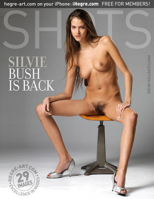 Silvie - `Bush Is Back` - by Petter Hegre for HEGRE-ART