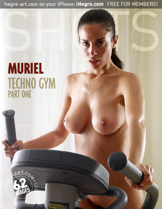 Muriel - `Techno Gym - Part 1` - by Petter Hegre for HEGRE-ART