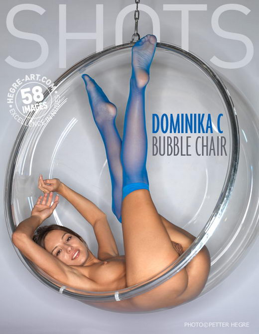Dominika C - `Bubble Chair` - by Petter Hegre for HEGRE-ART