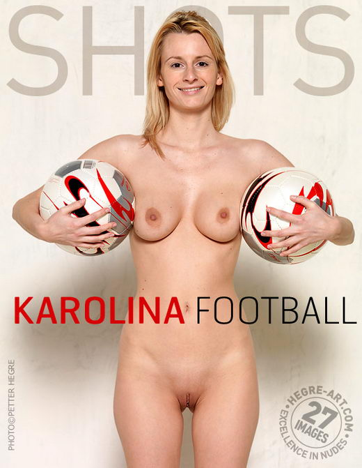 Karolina - `Football` - by Petter Hegre for HEGRE-ART