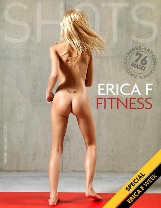 Erica F - `Fitness` - by Petter Hegre for HEGRE-ART