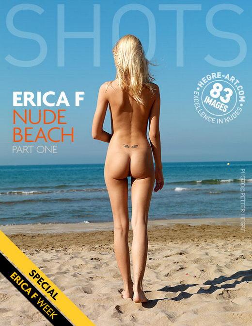 Erica F - `Nude Beach Part1` - by Petter Hegre for HEGRE-ART