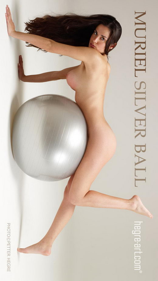 Muriel - `Silver Ball` - by Petter Hegre for HEGRE-ART