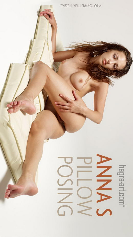 Anna S - `Pillow Posing` - by Petter Hegre for HEGRE-ART