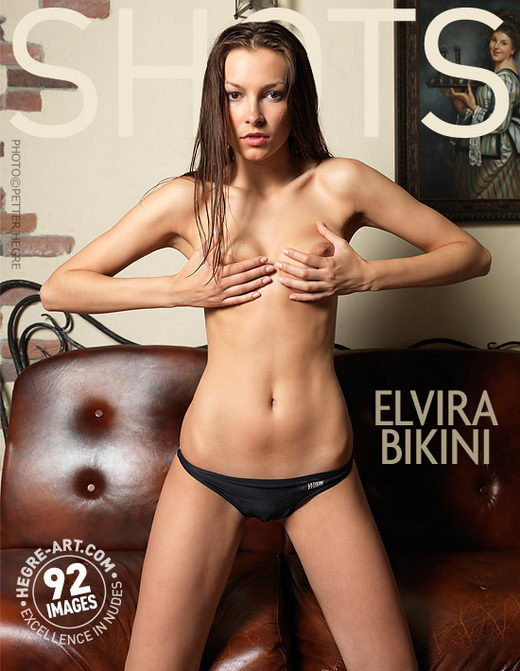 Elvira - `Bikini` - by Petter Hegre for HEGRE-ART