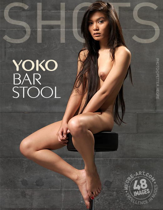 Yoko - `Bar Stool` - by Petter Hegre for HEGRE-ART