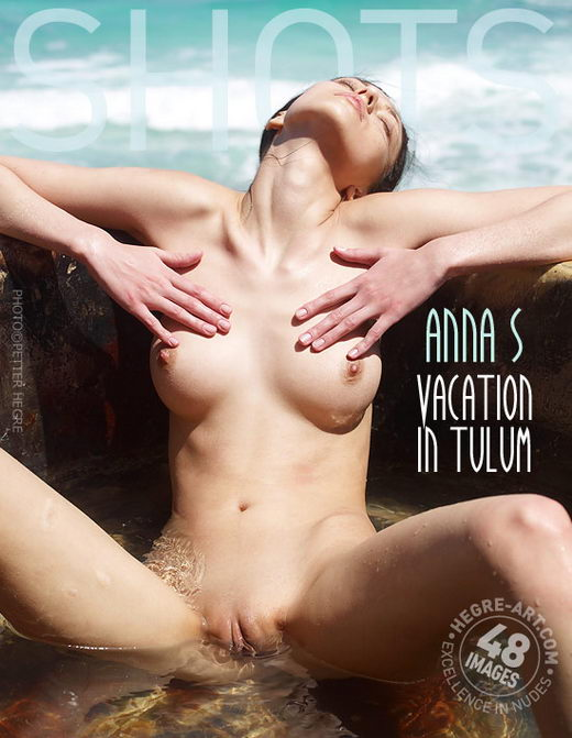 Anna S - `Vacation In Tulum` - by Petter Hegre for HEGRE-ART