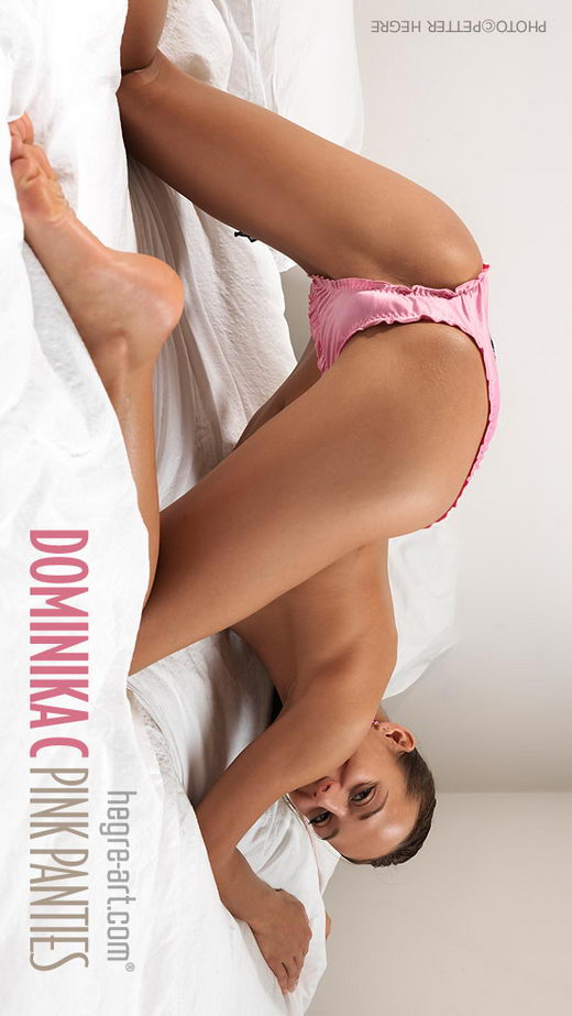 Dominika C - `Pink Panties` - by Petter Hegre for HEGRE-ART