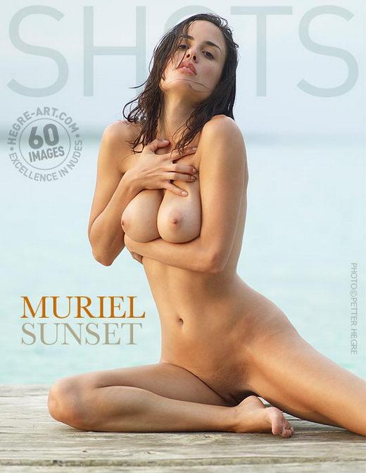 Muriel - `Sunset` - by Petter Hegre for HEGRE-ART