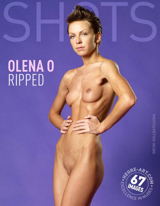Olena O - `Ripped` - by Petter Hegre for HEGRE-ART
