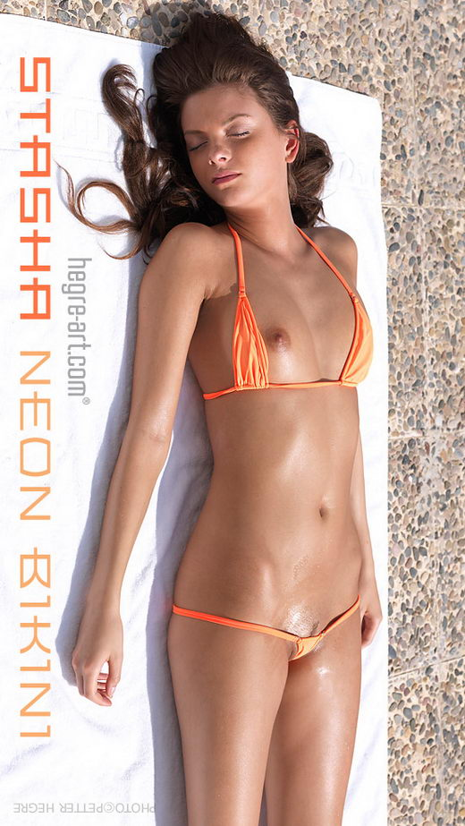 Stasha - `Neon Bikini` - by Petter Hegre for HEGRE-ART