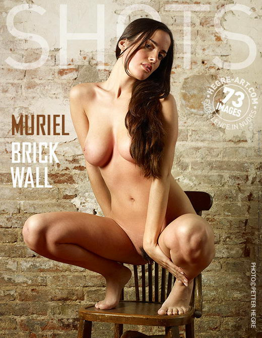 Muriel - `Brick Wall` - by Petter Hegre for HEGRE-ART