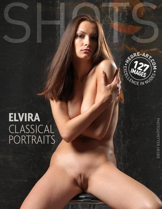 Elvira - `Classical Portraits` - by Petter Hegre for HEGRE-ART