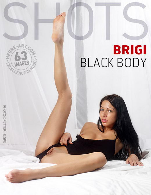 Brigi - `Black Body` - by Petter Hegre for HEGRE-ART